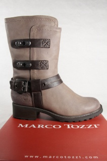 Marco Stiefelette, Tozzi 25406 Damen Stiefel, Stiefelette, Marco Stiefel taupe NEU! 9de88c