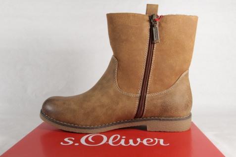 S.Oliver Damen Stiefel 26421 Stiefelette, NEU! Stiefel braun NEU! Stiefelette, 95f3ad