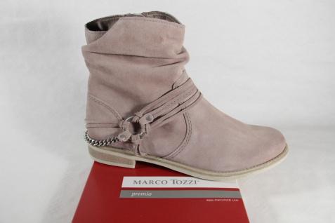 Marco Leder Tozzi Stiefel Stiefelette beige Leder Marco RV NEU!! 21180a