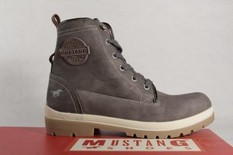 Mustang Stiefel Stiefeletten Stiefeletten Stiefeletten Schnürstiefel Boots grau 1207 NEU! 6baaba
