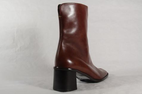 Lenci Damen Stiefel Neu!!! braun Echtleder schmale Form Neu!!! Stiefel 8e0d49