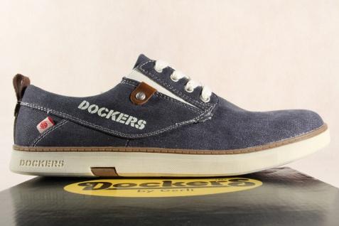Dockers Herren Sneaker Schnürschuh, blau, Sneaker, Halbschuh, blau, Schnürschuh, NEU! bc31a5