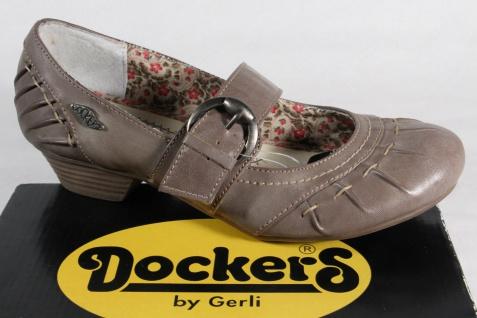 Dockers Slippers Pumps Slippers Dockers Halbschuhe Slippers grau NEU!! 96c180