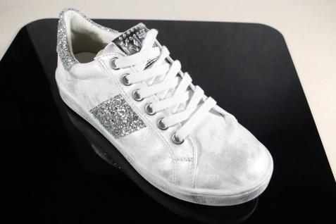 Marco Tozzi Schnürschuhe Sneakers Halbschuhe NEU! weiß/ silber 23737 NEU! Halbschuhe 552b27