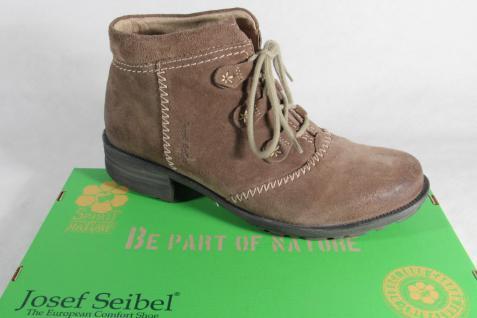 Seibel Stiefel, 93052 Stiefelette, Schnürstiefel braun gefüttert 93052 Stiefel, NEU d62621