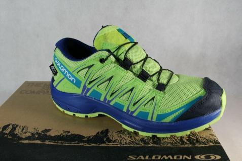 Salomon XA PRO 3D CSWP Sportschuhe Laufschuhe grün/ gelb wasserdicht 406473 Neu!