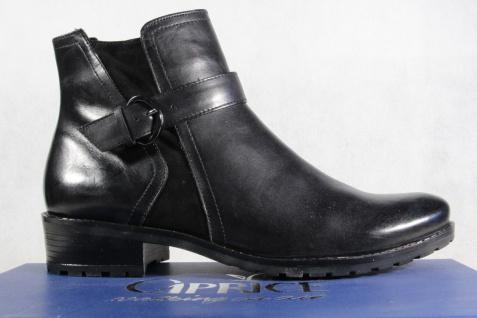 Caprice schwarz Stiefel Stiefeletten Stiefel Winterstiefel schwarz Caprice Leder 25418 NEU 3a44e4