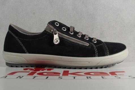 Rieker Damen NEU! Schnürschuhe, Halbschuhe, Sneakers, blau, NEU! Damen 493614