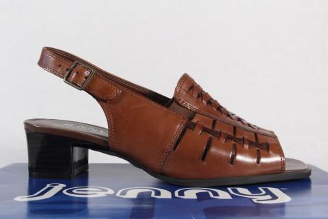 Jenny by Ara Sandalen NEU! Sandaletten Sling Echtleder braun NEU! Sandalen aff6a3