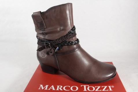 Marco Stiefel, Tozzi 25002 Damen Stiefel, Marco Stiefelette, Stiefel grau NEU! 248cd9