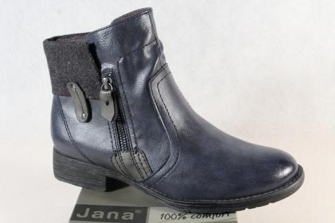 Jana Stiefel 25464 Winterstiefel Schnürstiefel Stiefel blau/ grau 25464 Stiefel Weite H NEU 2fbf1c