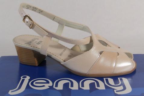 Jenny by Ara Sandalen Sandaletten Sling Echtleder beige NEU!