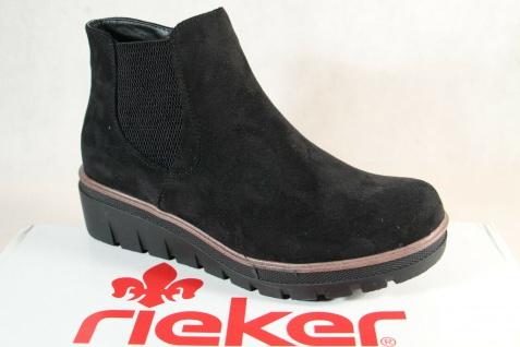 Rieker Damen Stiefel 99182 Stiefelette Schnürstiefel Boots schwarz RV NEU!