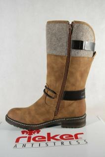 Rieker Damen Tex Stiefel Stiefeletten Winterstiefel Boots braun 94774 NEU