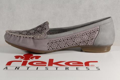 Rieker Slipper Sneakers Halbschuhe Sportschuhe Ballerina grau 40075 40075 40075 NEU!! dfc314