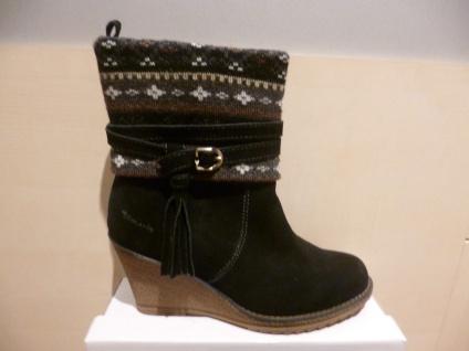Damen Stiefel Stiefeletten Boots Winterstiefel schwarz Leder NEU!! SP. 39, 00 €