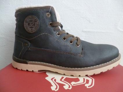 Mustang Stiefel Boots Schnürstiefel Winterstiefel grau/graphit 4092 NEU !!