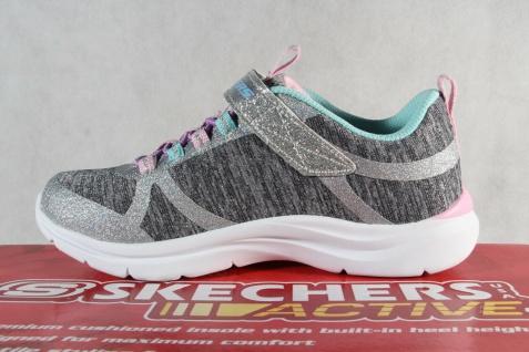 Skechers Sneaker Schnürschuh Sportschuh grau/ rosa Memory Foam NEU - Vorschau 3