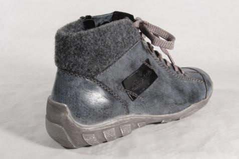 Rieker Damen Stiefel Schnürschuhe Stiefel Stiefel Damen blau L6540 NEU! c2d164