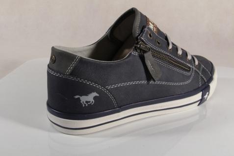 Mustang Schnürschuhe 1146 Sneakers Halbschuhe Sportschuh blau 1146 Schnürschuhe NEU e1ed63