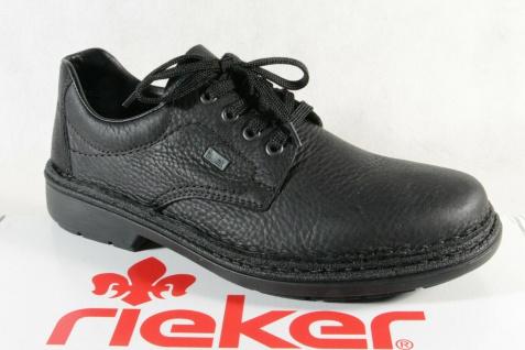 Rieker Herren Schnürschuhe Halbschuhe Sneakers Slipper Echtleder TEX 05001 NEU!