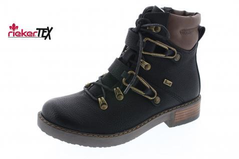 Rieker Stiefel 92231 Stiefelette Boots Winterstiefel schwarz gefüttert NEU