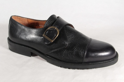 Giavan Herren Slipper, Sneakers, Halbschuhe schwarz Leder 816010 NEU
