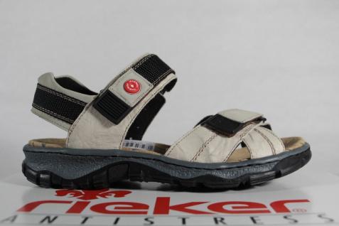 Rieker Damen 68851 Sandale Sandalette Leder beige 68851 Damen NEU!! 861440