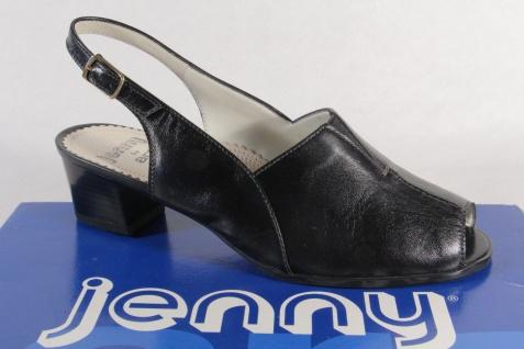 Jenny by Ara Sandalen Sandaletten Sling Echtleder schwarz NEU!