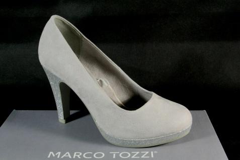 Marco Tozzi Pumps Ballerina Slipper grau 22441 NEU!