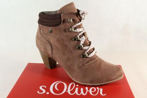 S.Oliver Damen Stiefelette Stiefel Boots Schnürstiefel pepper 25133 NEU!