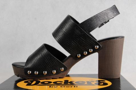 Dockers schwarz Damen Sandale, Sandalen Sandaletten schwarz Dockers NEU!! ed0b75