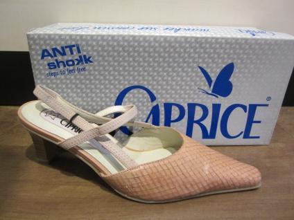 Damen Caprice Sling/Sandale rose rose Sling/Sandale Leder Neu a29168