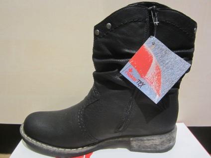 Rieker Tex-Stiefel, schwarz, NEU kein Leder, warm gefüttert, NEU schwarz, c22596