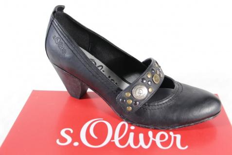 S.Oliver Pumps, schwarz, Lederinnensohle, NEU! NEU! NEU! bd2876