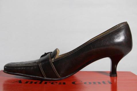 Andrea Andrea Andrea Conti Pumps, Slipper, Trotteur Echtleder braun NEU! Beliebte Schuhe 07c090