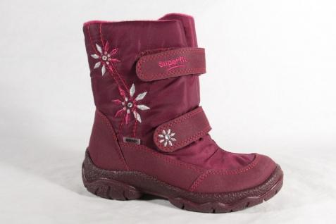Superfit Mädchen Gore-Tex Stiefel Stiefeletten Boots viola/pink 7-091 NEU!