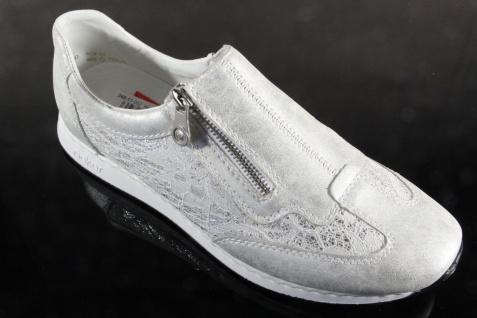 Rieker Damen Slipper 56061 Pumps Halbschuhe Ballerina weiß 56061 Slipper Neu 471801