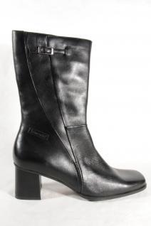 Damen Neu!!! Stiefel Stiefelette schwarz Echtleder Neu!!! Damen 8f0fa5