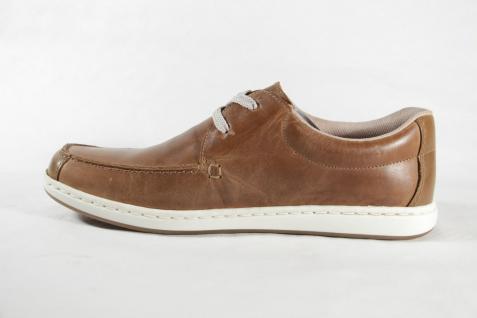 Rieker Herren braun, Schnürschuh, braun, Herren Wechselfußbett, Echtleder NEU! Beliebte Schuhe 364658
