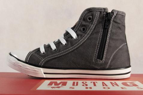 Mustang Stoff Schnürschuh Sneaker Halbschuh grau Gummisohle 5803 NEU NEU NEU Beliebte Schuhe e8ff3e