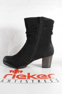 Rieker 98570 Damen Stiefel NEU Stiefelette Stiefel schwarz Reißverschluss NEU Stiefel 5c234f