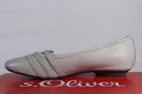S.Oliver Ballerina Slipper Halbschuhe Pumps NEU!! grau NEU!! Pumps d3d1d9