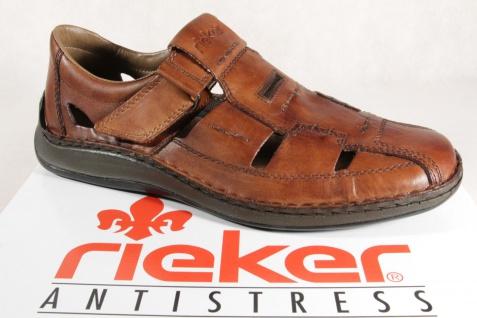 Rieker Slipper Sneakers Halbschuhe braun Echtleder 05284 NEU