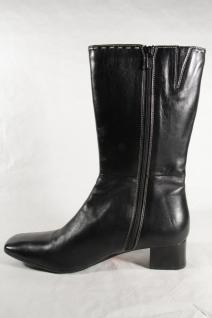 Damenschuhe Neu!!! Damen Stiefel schwarz Echtleder Neu!!! Damenschuhe b29687