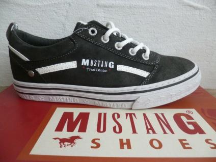 Mustang Damen Sneaker Sneakers Slipper Sportschuhe grau 1354 NEU!