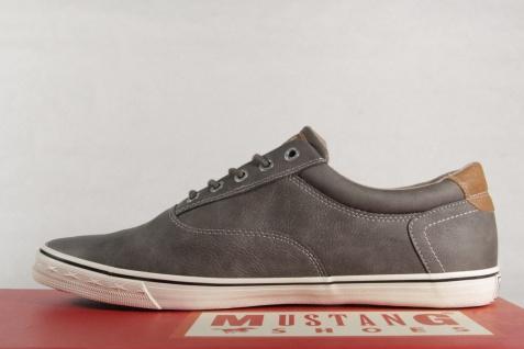 Mustang Herren Schnürschuhe Sneakers Halbschuhe, NEU grau Gummisohle 4103 NEU Halbschuhe, c2ce58