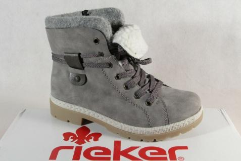 Rieker Herren Stiefel 30934 Boots Stiefelette Schnürstiefel