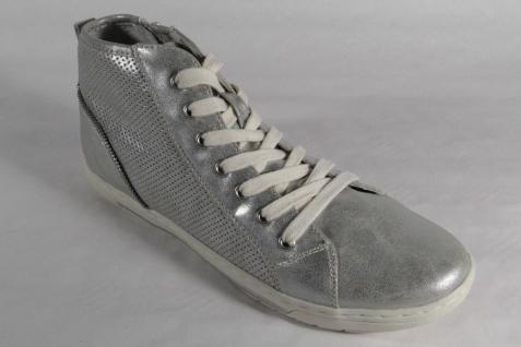 Marco Tozzi Schnürschuhe Kunstleder Sneakers Halbschuhe Kunstleder Schnürschuhe silber NEU! 2eb9d2