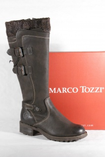 Marco Tozzi Damenstiefel Damen Stiefel Damenstiefel Tozzi dunkelbraun 26603 Neu!!! 36435e